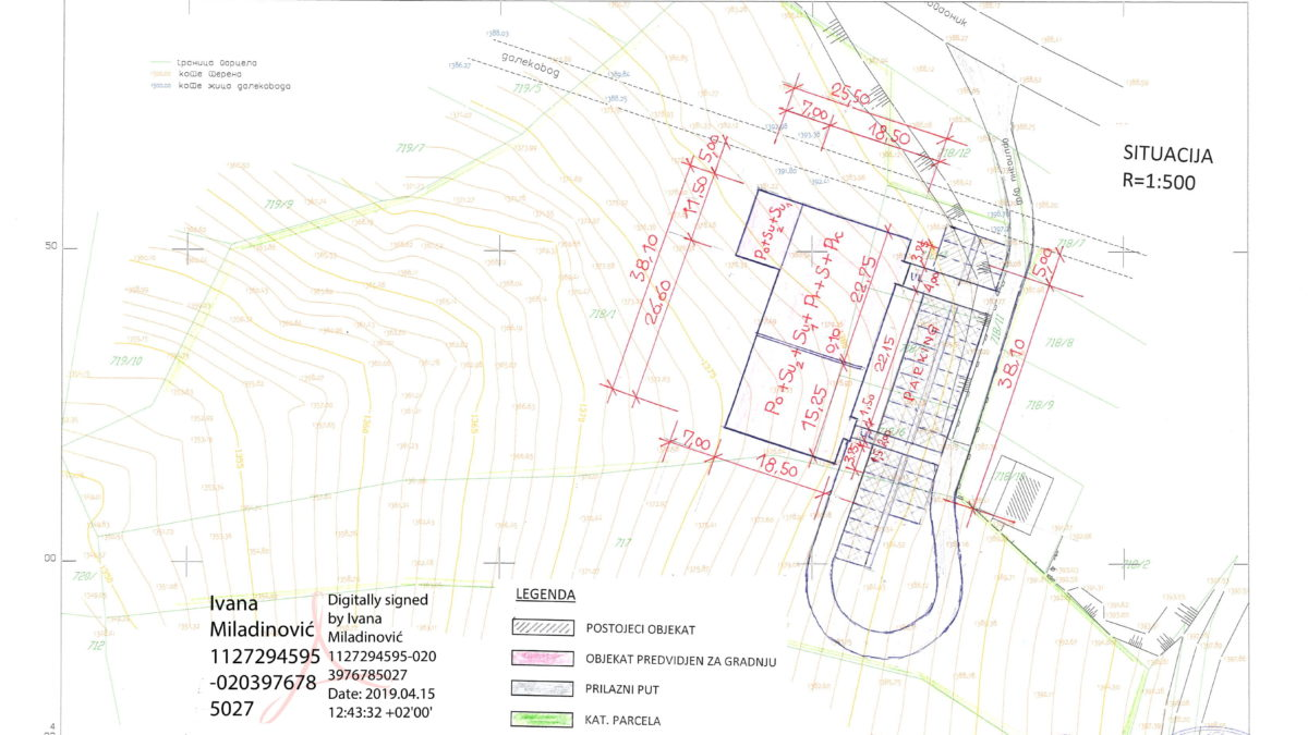 plan apartmani kopaonik Situacija-1